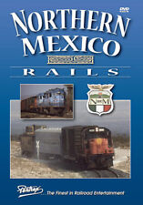 Northern Mexico Rails Railroad DVD New Pentrex