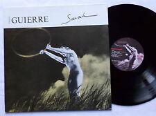 Francois GUIERRE Sarah LP RPM 30101 (1984) Patrick VERBEKE - NMint