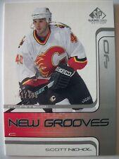 2002 SP HOCKEY GAME USED NEW GROOVES ROOKIES ,SCOTT NICHOL !! BOX 15