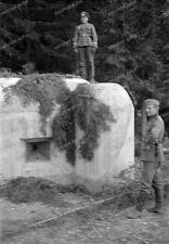 Negativ-Sudetenland-Österreich-Tschechien-Grenzgebiet-Stellung-Bunker-1938-13