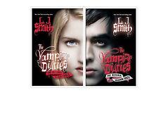 Vampire Diaries Nightfall 1 (2009)  & Shadow Souls 2 (2010) by L. J. Smith HCDJ