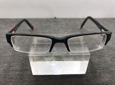 08589fec4bb Marc Hunter Eyeglasses 7260 ONXY 49-18-140 Black Half Rimless 5669