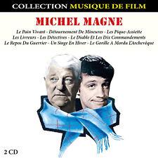 CD Michel Magne : Musiques de Films / Musique pour Films - Coffret 2 CD