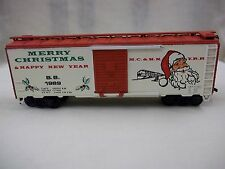 ATHEARN BEV BEL 1989 HO SCALE CHRISTMAS TRAIN BOX CAR LIMITED EDITION USED