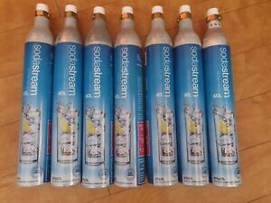 Soda stream gas cylinders