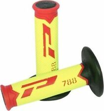 Agarres PROGRIP color principal amarillo para motos