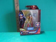 """Man of Steel Powers of Krypton Solar Power Superman 4""""in Figure Mattel 2013"""