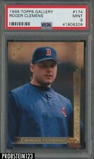 1996 Topps Gallery #174 Roger Clemens Boston Red Sox PSA 9 MINT