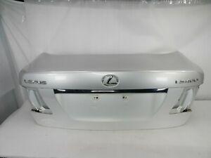 ☑️ 07-12 Lexus LS460L Trunk / Deck Lid with Camera (No Lights) Mercury Metallic