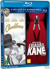Blu-ray Casablanca + Citzen Kane 2-Disc [Audio and Subtitles English+Portuguese]