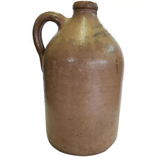 Antique New York City Stoneware Handled Jug Druggist J & J.F. Trippe