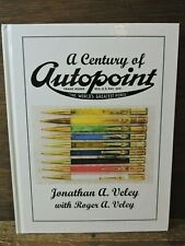 New 2019 A Century Of Autopoint Color Illustrated Hard Cover Book Jonathan Veley