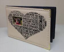 Personalised faux leather photo album, memory book, Bridesmaid wedding present
