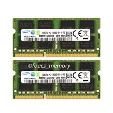 Samsung 16GB 2X8GB DDR3-1333MHz PC3-10600 204Pin Laptop Memory SODIMM RAM