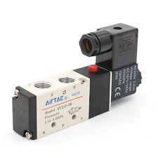 Electrical 4V210-08 5 Way 2 Position Pneumatic Solenoid Air Valve AC 220V