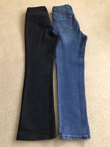 "Jeans Bundle Inside Leg 28"" size 10 Straight & Bootcut"