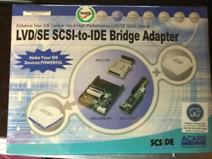 Acard aec-7720U SCSI to IDE Adapter bridge converter 50-pin Ultra SCSI to 40-pin