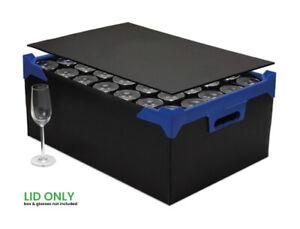 Glassjacks Lid - Lid For Glassware Storage Boxes - Fits All of NV Boxes Range