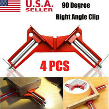 Woodworking 90Degree Right Angle Picture Frame Corner Clamp Clip Holder Hand Kit