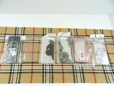 6 Samsung Galaxy S8 phone cases lot Clear Flowers Black Cat Butterflies Rosegold