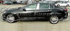2008-2009 Pontiac G8 Chrome 6Pc Pillar Post Stainless Steel Trim
