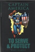 Captain America To Serve & Protect Marvel Comics Hard Cover Book (VF/NM 9)
