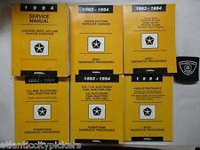 1994 LEBARON / SPIRIT / ACCLAIM / SHADOW / SUNDANCE SERVICE SHOP MANUAL SET