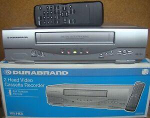 VHS Videorecorder Durabrand HG231ED mit Fernbedienung, Videorekorder Funai 29A-