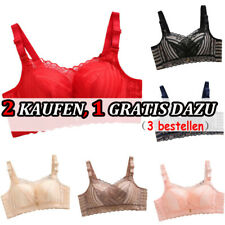 Damen Mädchen Sexy Full Cup Push Up BH Dessous Spitze Stretchy Gepolsterte BHs