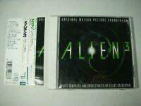 ALIEN 3 Original Motion Picture Soundtrack Japan CD w/Obi