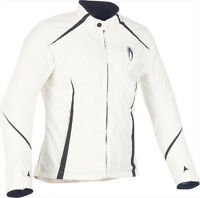 Giacca giubbotto jacket moto richa hannah donna lady scooter bianco white