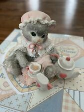 Cherished Teddies Calico Kittens 625981 Tea And You Hit The Spot