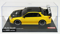 Kyosho Mini Z MZP416MY SUBARU IMPREZA WRX with Aero Metallic Yellow