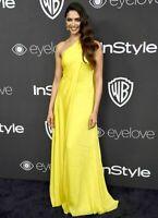 New Ralph Lauren Collection Purple Label Jamie Yellow Long Dress Gown IT 40 US 4