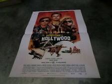 AFFICHE  TARANTINO / ONCE UPON A TIME IN HOLLYWOOD / 40X60
