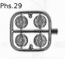 Accessori 1/18-1/24   FARI PLASTICA 10MM  TRON PHS29