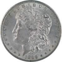 1899 O $1 Morgan Silver Dollar US Coin AU About Uncirculated