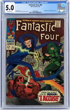 Marvel Comics Fantastic Four #65 CGC 5.0 1st Ronan The Accuser Lee Kirby 1967