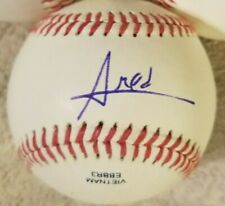 New York Mets Star Amed Rosario Signed/Autographed Rawlings Baseball