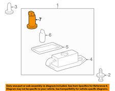 TOYOTA OEM License Lamps-Rear Lamps-Socket 81275AA010