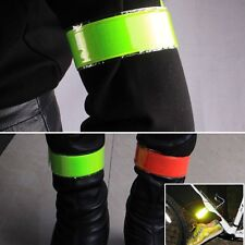 Snap Armband Fahrrad Arm Bein Reflektorband Gurt Gürtel Sicherheit Reflektor
