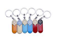 VW Bulli Bus Bully Schlüsselanhänger T1 GELB-ROT - SLIM LINE Volkswagen