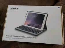 Anker  Bluetooth Folio Keyboard Case For iPad Air 2