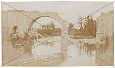 Vipacco / Vipava Slovenia foto ponte ferrovia crollato guerra WW1 WWI Gorizia