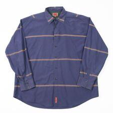 En muy buena condición Vintage Tommy Hilfiger Camisa a Rayas Etiqueta Roja | Para Hombre 2XL | retro rayas