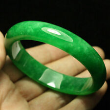 Jadeite Jade Bracelet Bangle 1512 63mm Certified (Grade A) Natural Green