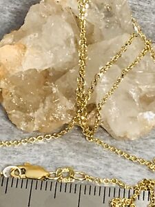 14k yellow gold chain preowned