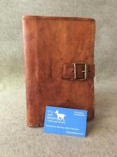 Handmade Goat Leather Compendium BCDA5 Diary Book Cover Folder Kindle iPad Mini