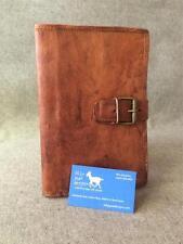 Handmade Goat Leather Compendium BCDA5 Diary Book Cover Folder Kindle iPad Mini