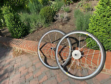 Mavic Aksium Clincher Wheelset with Shimano Cassette and Tyres